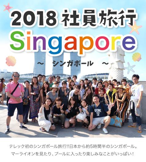2018社員旅行Singapore